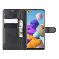 Bookcase & flipcase hoesjes Samsung Galaxy A21s