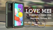 Love Mei hoezen Samsung Galaxy A51