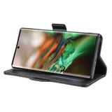 Samsung Galaxy Note 10 hoesje, Luxe 3-in-1 bookcase, zwart_