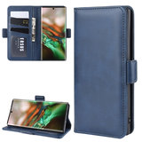 Samsung Galaxy Note 10 hoesje, Luxe 3-in-1 bookcase, donkerblauw_