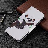 iPhone 11 Pro hoesje, 3-in-1 bookcase met print, panda in boom_