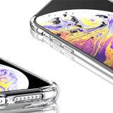 iPhone 11 Pro hoesje, Shock proof gel case met verstevigde hoeken, volledig doorzichtig_