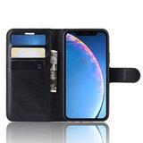 iPhone 11 hoesje, 3-in-1 bookcase, zwart_