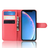 iPhone 11 hoesje, 3-in-1 bookcase, rood_