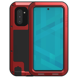 Samsung Galaxy Note 10 hoes, Love Mei, metalen extreme protection case, rood_
