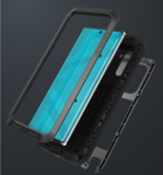 Samsung Galaxy Note 10 hoes, Love Mei, metalen extreme protection case, geel_