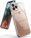iPhone 11 Pro hoesje, gel case, volledig doorzichtig_