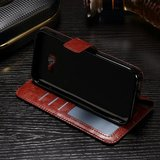 Samsung Galaxy Xcover 4S hoesje, 3-in-1 bookcase, bruin_