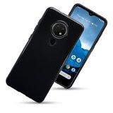 Nokia 6.2 / Nokia 7.2 telefoonhoesje, Gel case, Zwart_