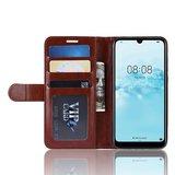Huawei Y5 (2019) hoesje, 3-in-1 bookcase, bruin_
