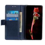 OnePlus 7T Pro hoesje, Luxe 3-in-1 bookcase, blauw_