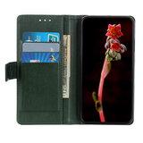 OnePlus 7T Pro hoesje, Luxe 3-in-1 bookcase, groen_