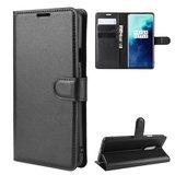 OnePlus 7T Pro hoesje, 3-in-1 bookcase, zwart_