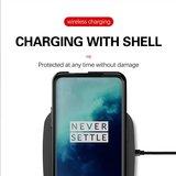 OnePlus 7T Pro hoesje, gel case geribbelde structuur, blauw_
