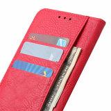 Nokia 6.2 / Nokia 7.2 hoesje, 3-in-1 bookcase, rood_