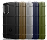 Samsung Galaxy S20 hoesje, Rugged shield TPU case, Zwart_