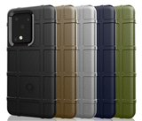 Samsung Galaxy S20 Ultra hoesje, Rugged shield TPU case, Blauw_