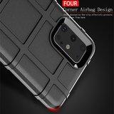 Samsung Galaxy S20 Plus (S20+) hoesje, Rugged shield TPU case, Blauw_