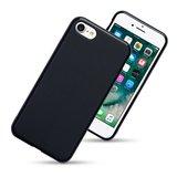 Apple iPhone SE (2020) / iPhone 7 / iPhone 8 hoesje, Gel case, Mat zwart_