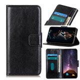 Samsung Galaxy A31 hoesje, Wallet bookcase, Zwart_