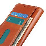 Samsung Galaxy A31 hoesje, Wallet bookcase, Bruin_