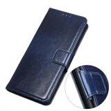 Samsung Galaxy A31 hoesje, Wallet bookcase, Blauw_