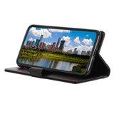 Samsung Galaxy A31 hoesje, Luxe wallet bookcase, Zwart_