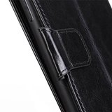 Samsung Galaxy Note 20 hoesje, Wallet bookcase, Zwart_