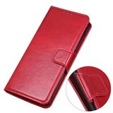Samsung Galaxy Note 20 Ultra hoesje, Wallet bookcase, Rood_