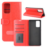 Samsung Galaxy Note 20 hoesje, Wallet bookcase, Rood_