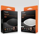 Spigen F305W Qi Wireless Charger - 9 Watt - Draadloze Oplader - Zwart_