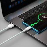 Baseus USB-C naar USB-C kabel, 1,5 Meter, Wit_