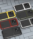 Xiaomi Mi 11 Hoes, Love Mei, Metalen Extreme Protection Case, Zilvergrijs_