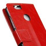 Huawei P Smart hoesje, 3-in-1 bookcase, rood_