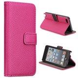 Apple iPod Touch 5 hoesje, 3-in-1 bookcase, roze_