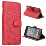 Apple iPod Touch 5 hoesje, 3-in-1 bookcase, rood_