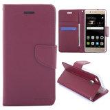 Huawei P9 Lite hoesje, 3-in-1 bookcase, donker rood_