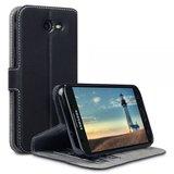 Samsung Galaxy J3 (2017) hoesje, 3-in-1 bookcase extra dun, zwart_