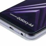 Samsung Galaxy A6 (2018) screenprotector, tempered glass (glazen screenprotector)_