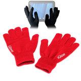 iGlove Touchscreen handschoenen, Rood_