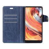 Sony Xperia XZ3 hoesje, 3-in-1 bookcase, blauw_