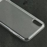 Apple iPhone XR hoesje, gel case, doorzichtig_