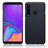 Samsung Galaxy A9 (2018) hoesje, gel case, mat zwart_