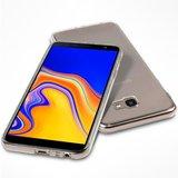 Samsung Galaxy J4 Plus hoesje, gel case, doorzichtig_