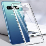 Samsung Galaxy S10E hoesje, gel case, volledig doorzichtig_