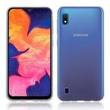 Samsung Galaxy A10 hoesje, gel case, volledig doorzichtig_