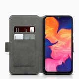 Samsung Galaxy A10 hoesje, 3-in-1 bookcase extra dun, paars_