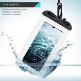 Waterdicht universeel telefoonhoesje, waterproof case, doorzichtig_