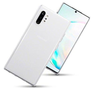 Samsung Galaxy Note 10 Plus hoesje (Note 10+), gel case, volledig doorzichtig