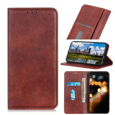 iPhone 11 Pro hoesje, Luxe 3-in-1 bookcase, bruin